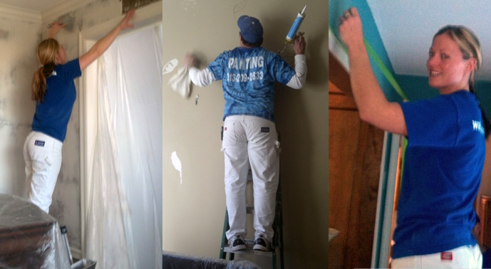Interior Painters Painting Home